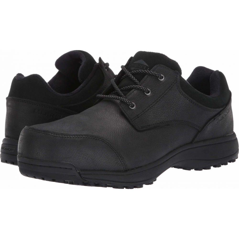 メレル メンズ シューズ 靴 革靴 ビジネスシューズ 新作アイテム毎日更新 Black Steel Toe サイズ交換無料 捧呈 Sutton Merrell Oxford Work