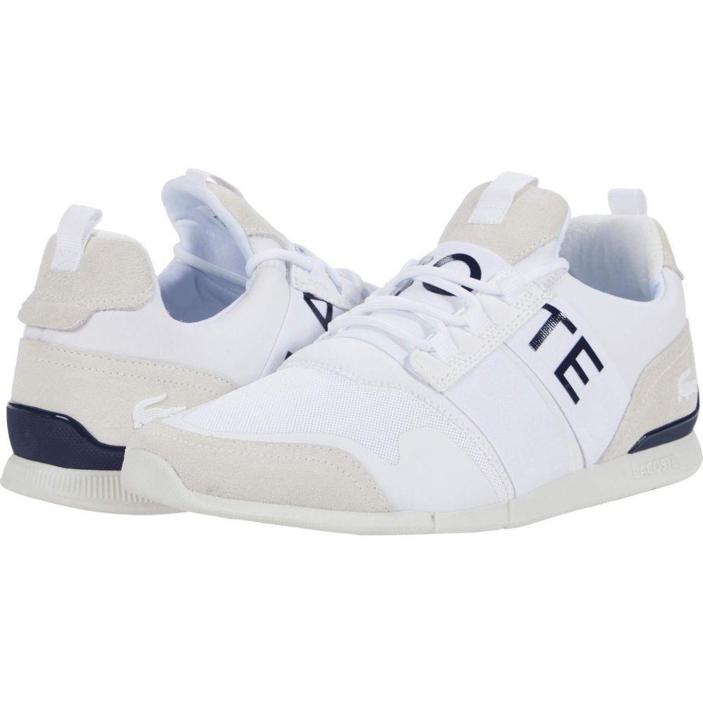 ラコステ Lacoste メンズ シューズ・靴 【Menerva Elite 0120 1】White/Navy