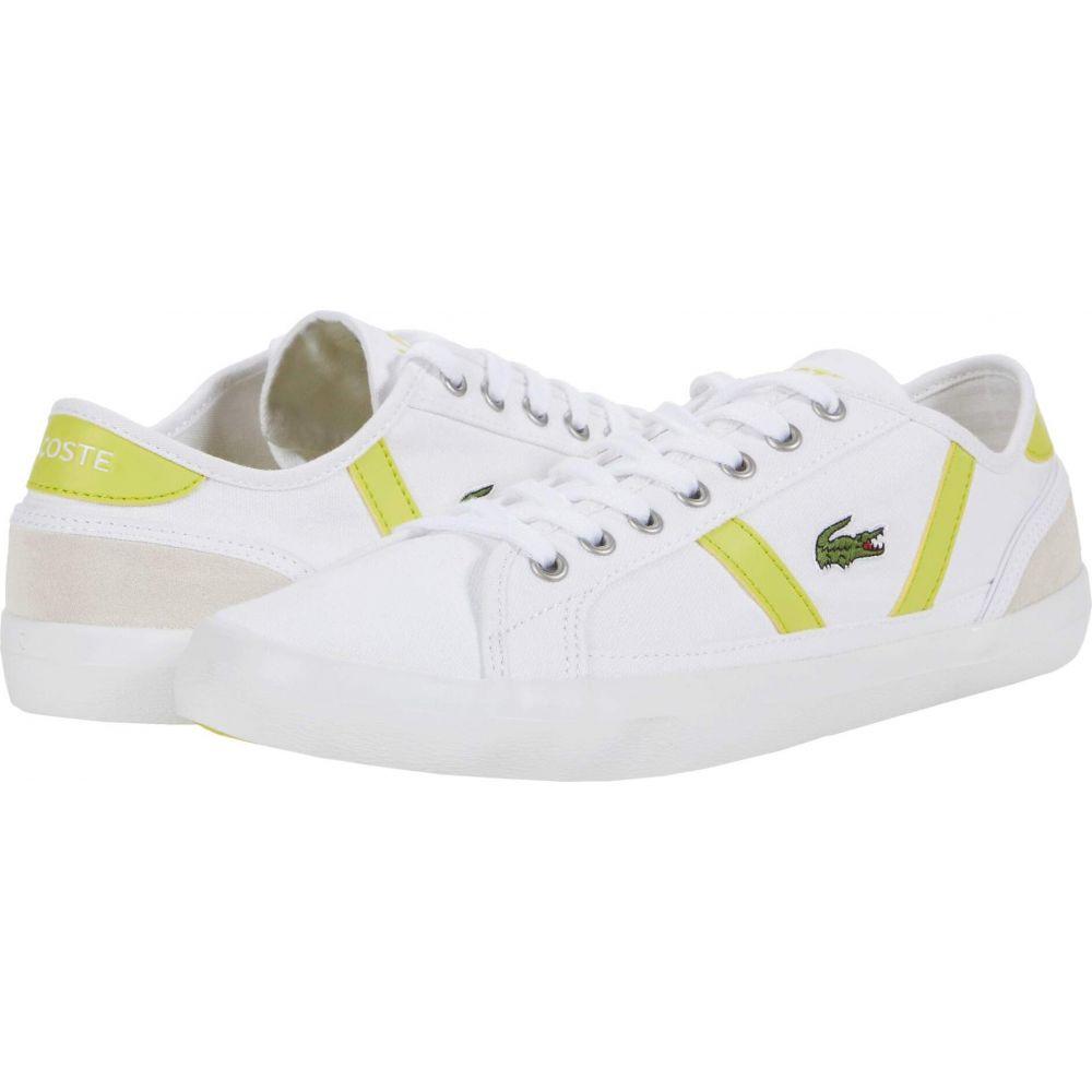 ラコステ Lacoste メンズ シューズ・靴 【Sideline 0120 6】White/Yellow