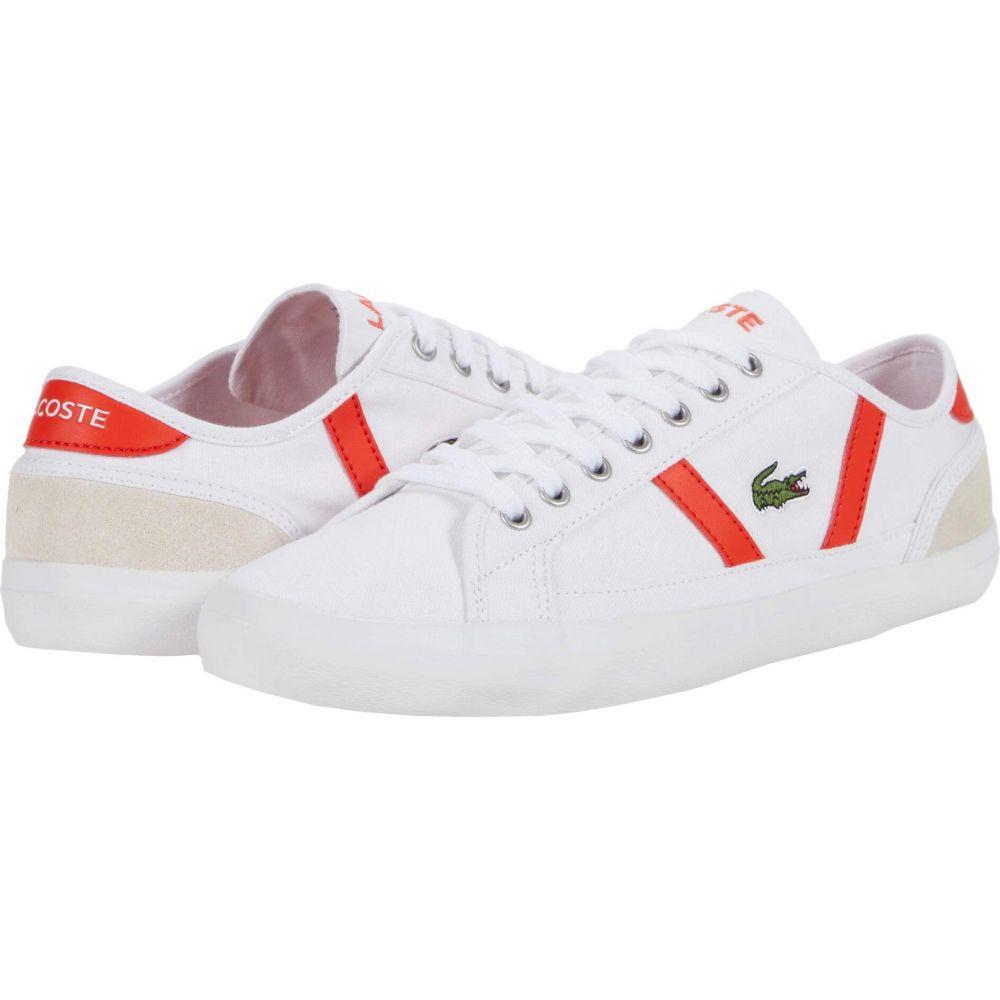 ラコステ Lacoste メンズ シューズ・靴 【Sideline 0120 6】White/Red