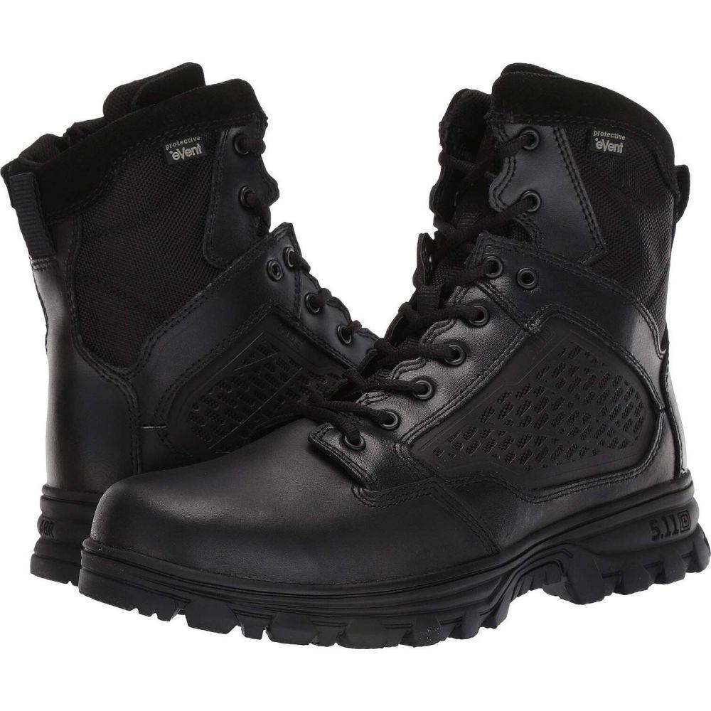 5.11 タクティカル 5.11 Tactical メンズ シューズ・靴 【Evo 6' Waterproof w/ Side Zip】Black