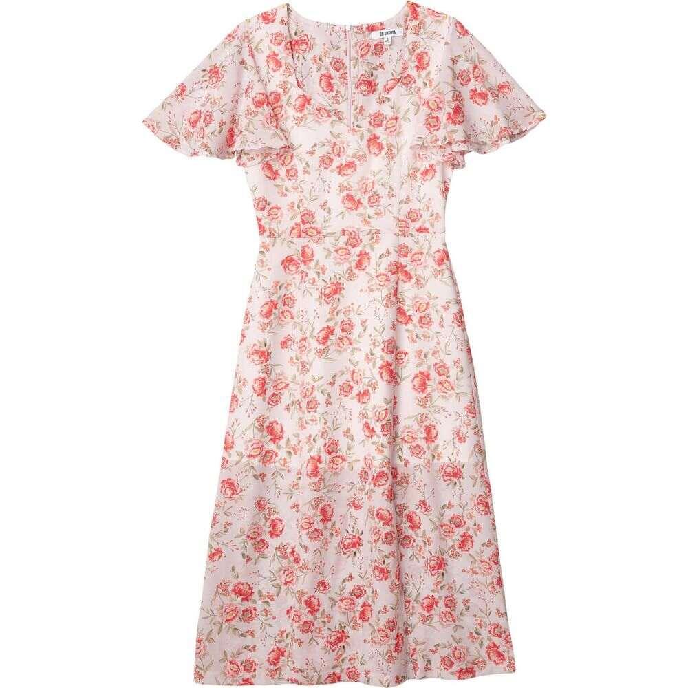 ビービーダコタ BB Dakota レディース ワンピース ミドル丈 ワンピース・ドレス【Endless Love 'Fairy Rose' Printed CDC Midi Dress】Ash Rose