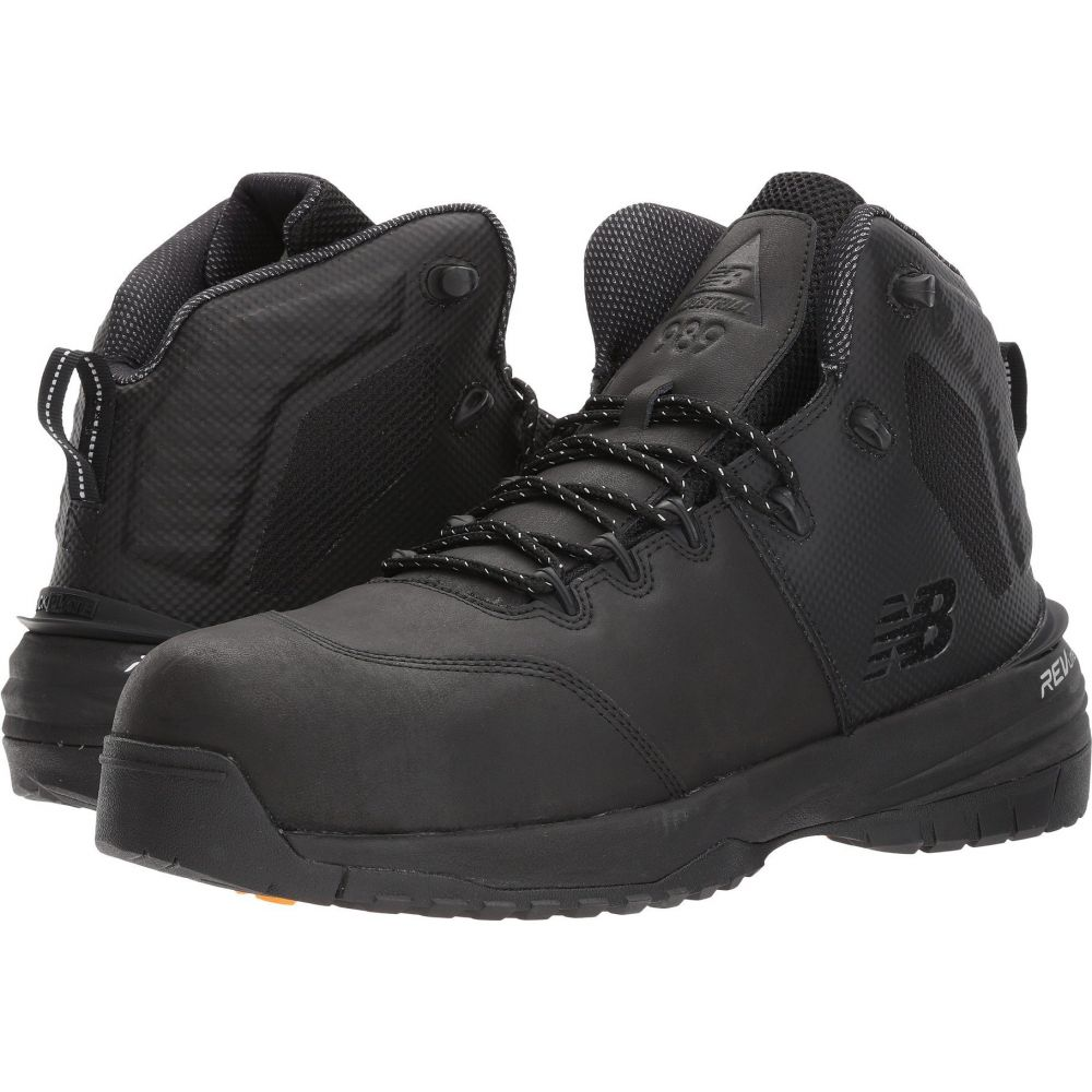 ニューバランス New Balance メンズ シューズ・靴 【MID989v1】Black/Black