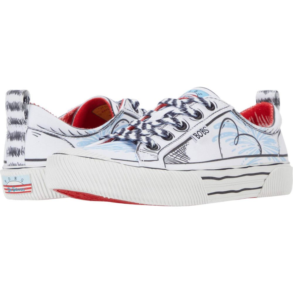 スケッチャーズ BOBS from SKECHERS レディース シューズ・靴 【Bobs B Wild - That Is That】White Multi