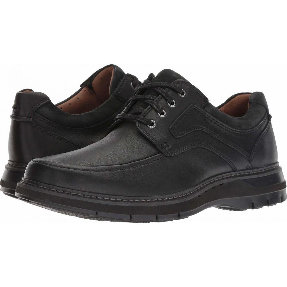 クラークス Clarks メンズ シューズ・靴 【Un Ramble Lace】Black Tumbled Leather