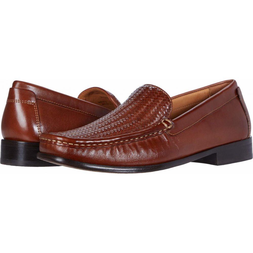 ジョンストン&マーフィー Johnston & Murphy メンズ シューズ・靴 【Stoltz Woven Venetian】Tan Full Grain