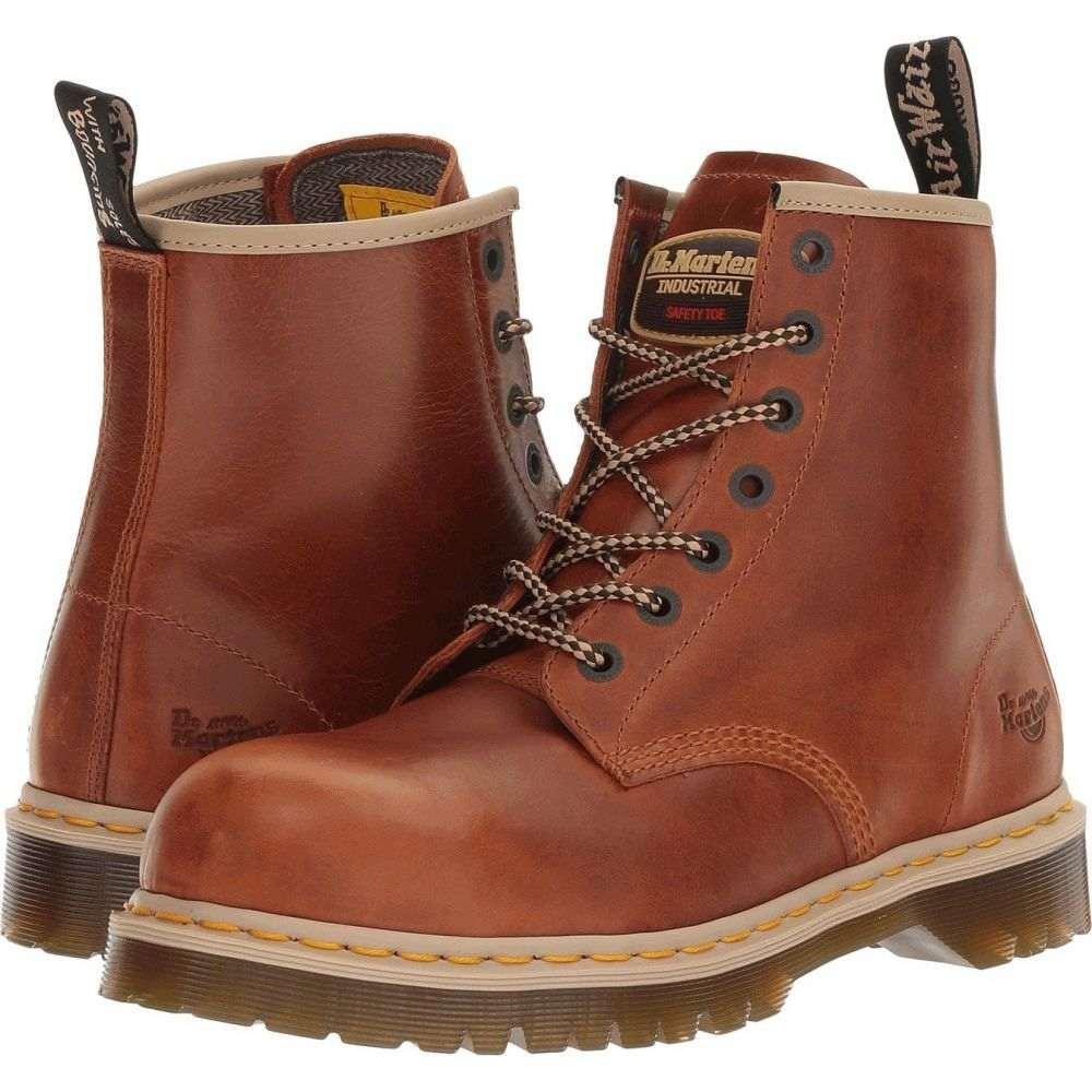 ドクターマーチン Dr. Martens Work メンズ シューズ・靴 【Icon 7B10】Tan Industrial Waxy