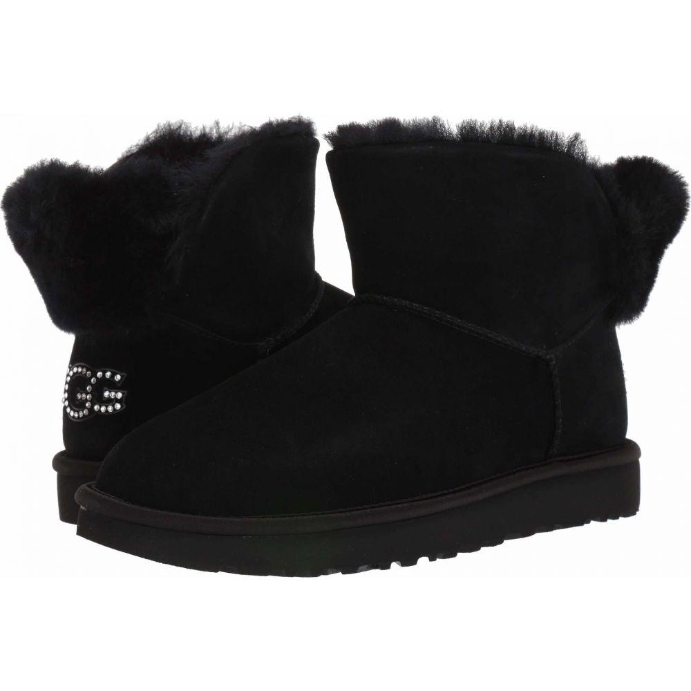 アグ UGG レディース シューズ・靴 【Classic Bling Mini】Black