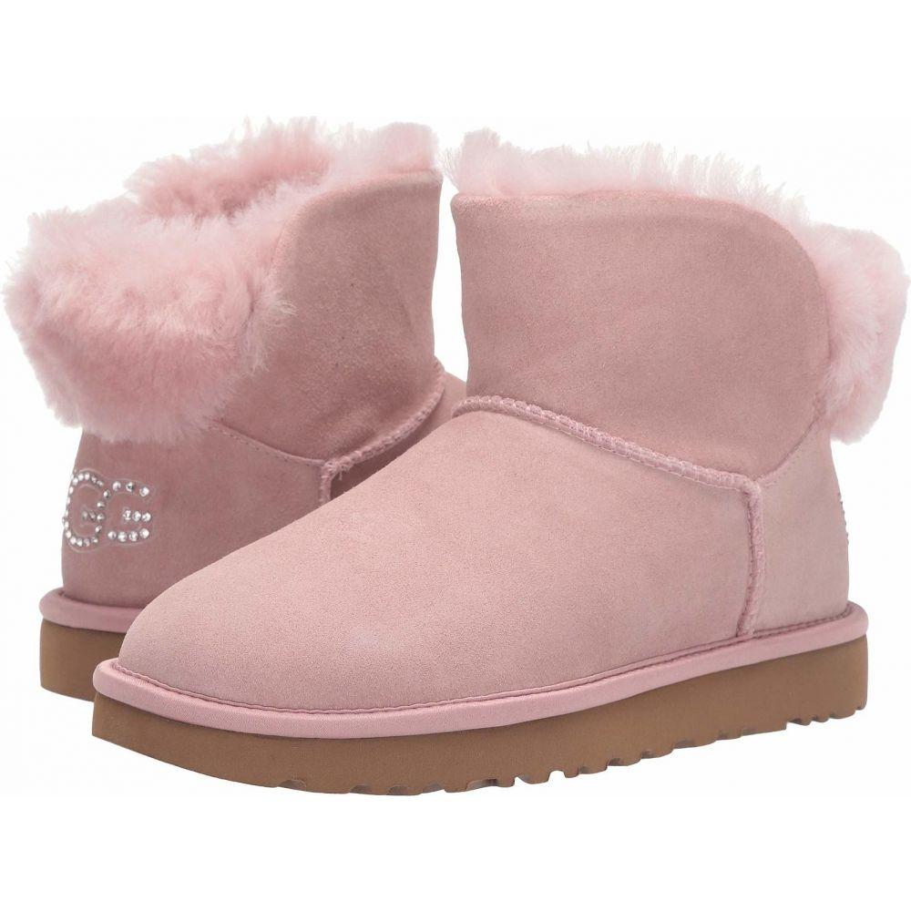 アグ UGG レディース シューズ・靴 【Classic Bling Mini】Pink Crystal
