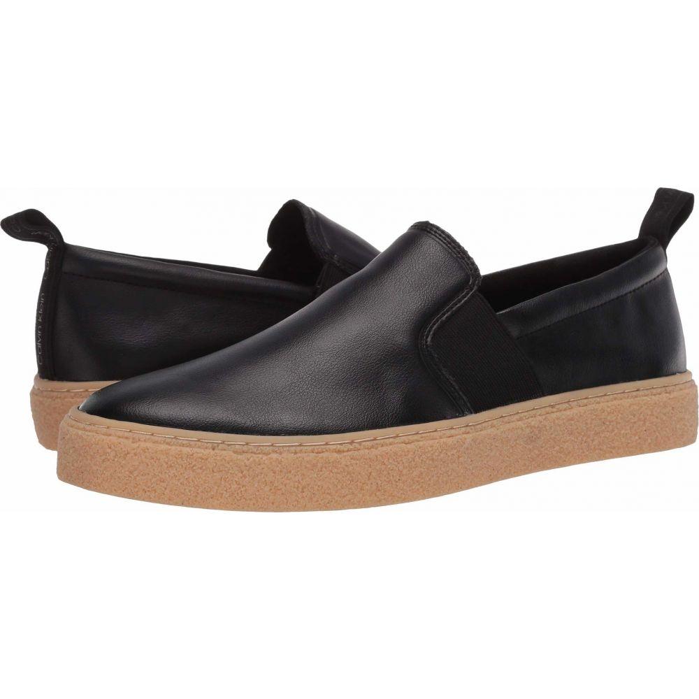 カルバンクライン Calvin Klein メンズ シューズ・靴 【Emmett】Black/Small Grain Leather