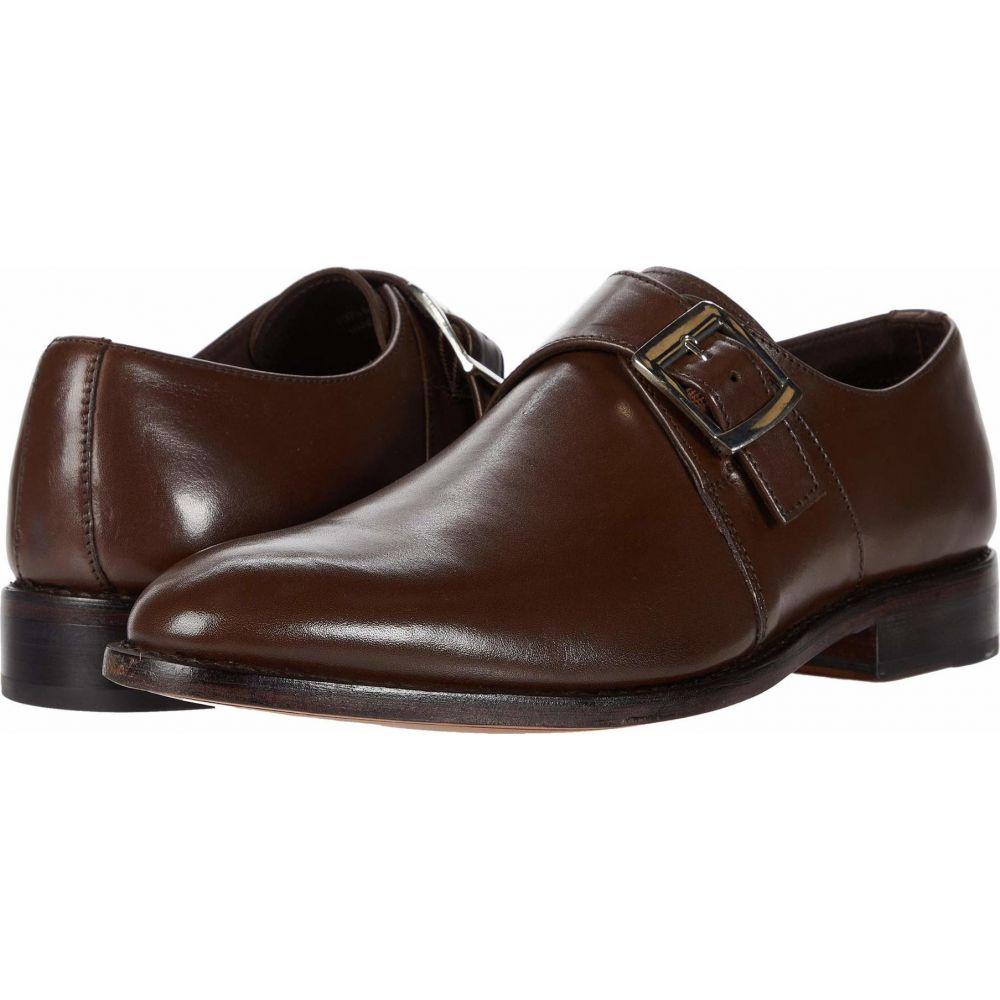 アンソニー ヴィア Anthony Veer メンズ 革靴・ビジネスシューズ シューズ・靴【Roosevelt Single Monk Strap】Chocolate Brown