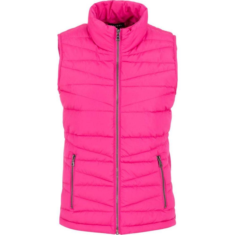 トリバル Tribal レディース ベスト・ジレ トップス【Lightweight Puffer Vest】Hot Pink