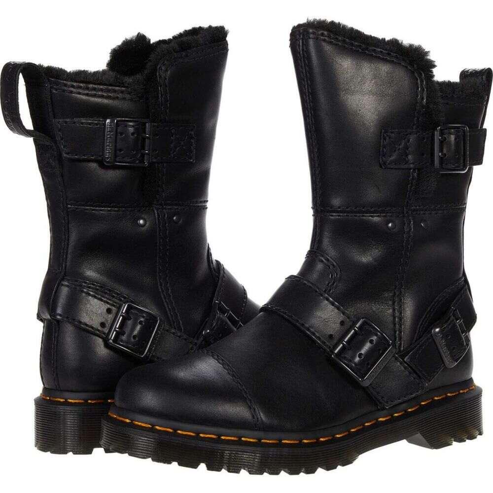 【値下げ】 ドクターマーチン Dr. Martens レディース シューズ・靴 【Kristy Mid】Black Luxor, 雑貨屋くろねこ c29b6a83