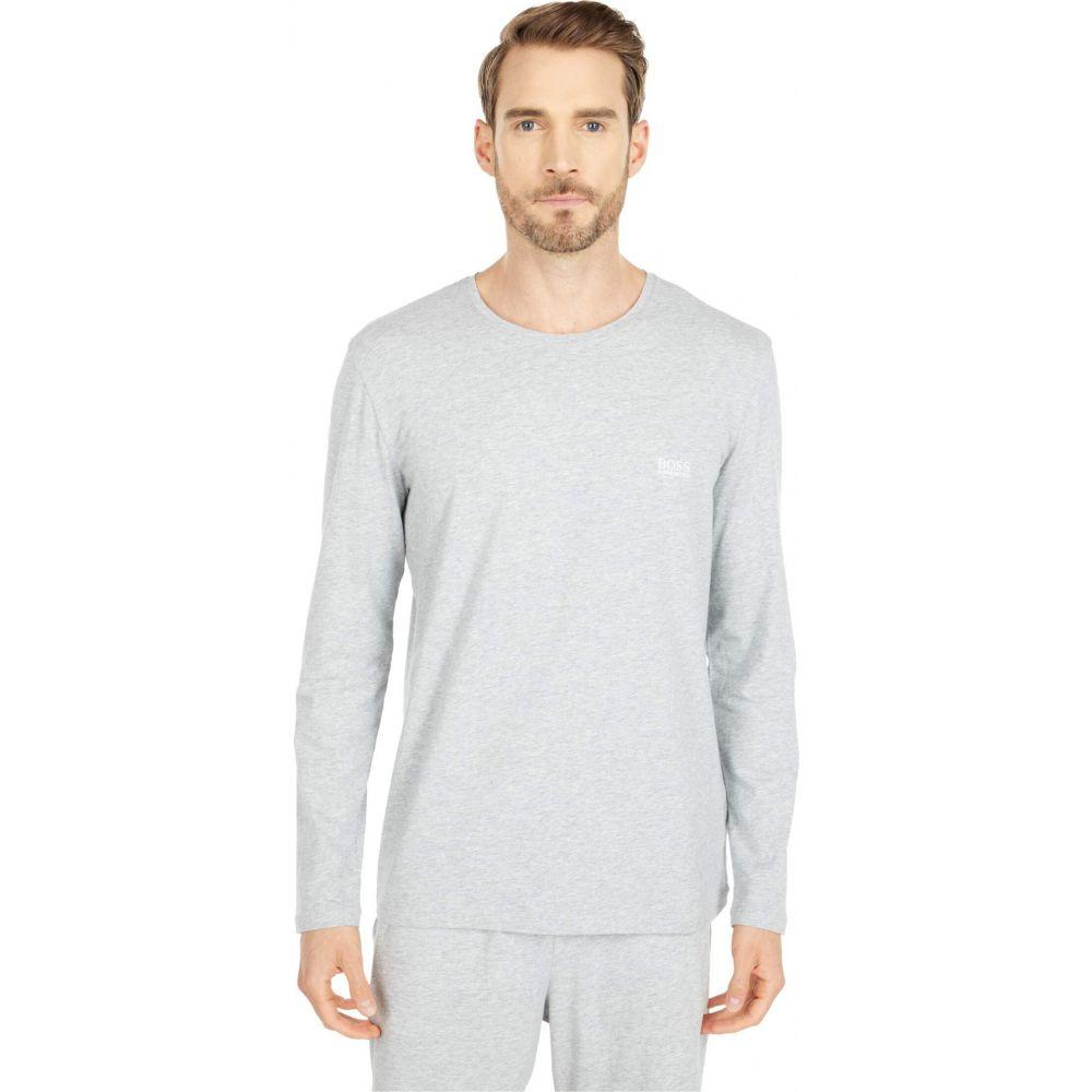 【有名人芸能人】 ヒューゴ ボス BOSS Hugo Boss メンズ トップス 【Mix & Match Long Sleeve Shirt R 10143871 01】Pearl Grey, マルオカチョウ e68440a6