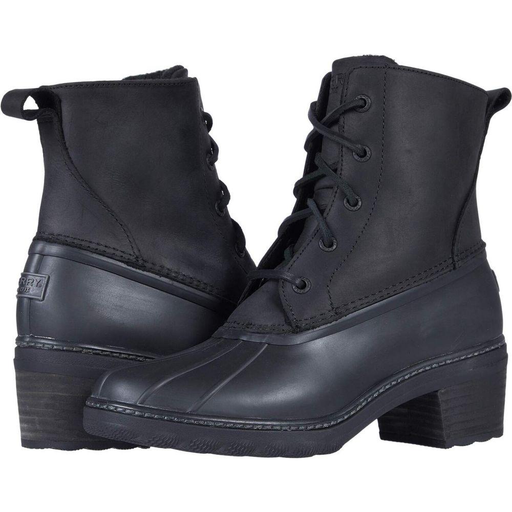 スペリートップサイダー Sperry レディース シューズ・靴 【Saltwater Heel Leather】Black