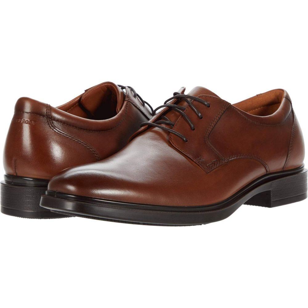メンズ Oxford】Cognac フローシャイム Toe シューズ・靴【Forecast 革靴・ビジネスシューズ Waterproof Plain Smooth Florsheim
