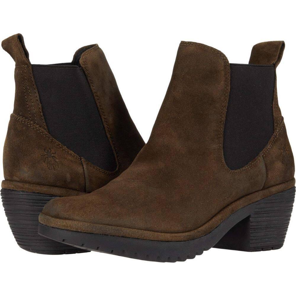 ブランド品専門の フライロンドン FLY LONDON レディース シューズ Suede・靴【WASP243FLY】Sludge レディース Oil シューズ・靴 Suede, ぬくもり工房:6aea7ac5 --- coursedive.com