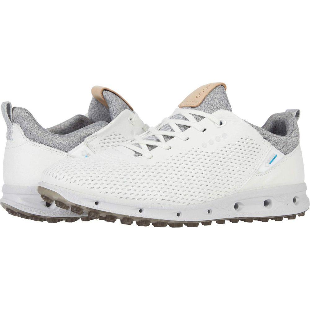 エコー 情熱セール 店 レディース ゴルフ シューズ 靴 White Yak Cool Pro ECCO サイズ交換無料 Leather GORE-TEX Golf