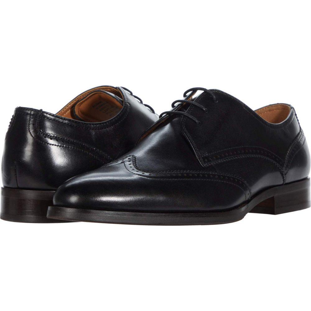 シューズ・靴【Rummi スティーブ 革靴・ビジネスシューズ Leather Madden メンズ マデン Oxford】Black Steve
