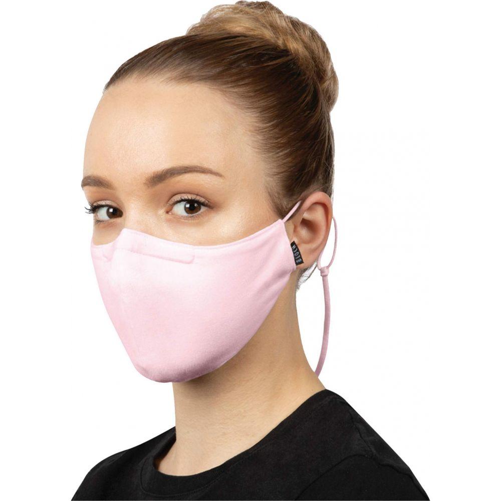 ブロック レディース 財布 時計 雑貨 Pink サイズ交換無料 Bloch 3点セット ネックストラップ デザインマスク ブランド w Face 着後レビューで 送料無料 定番から日本未入荷 Moldable 3-Pack Mask Stretch Pad and Lanyard Soft Nose