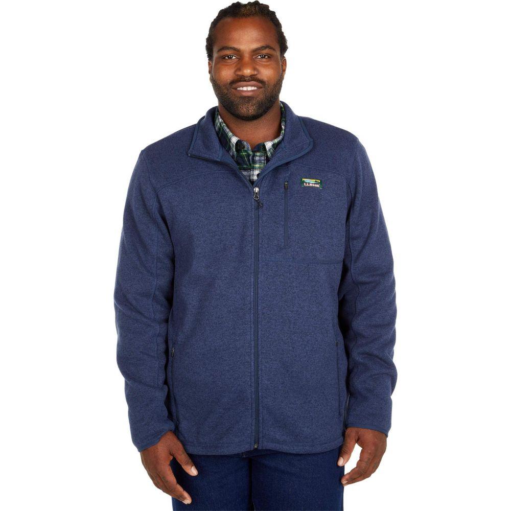 エルエルビーン 即出荷 メンズ トップス フリース Bright Navy サイズ交換無料 好評受付中 L.L.Bean Zip Full - Jacket Sweater Tall Fleece