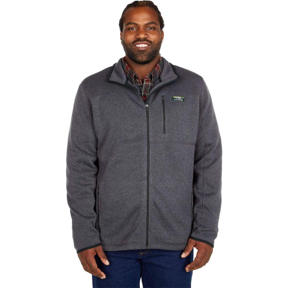 エルエルビーン メンズ トップス フリース Charcoal 人気急上昇 Gray Heather サイズ交換無料 発売モデル Zip Tall - Full Jacket Fleece Sweater L.L.Bean