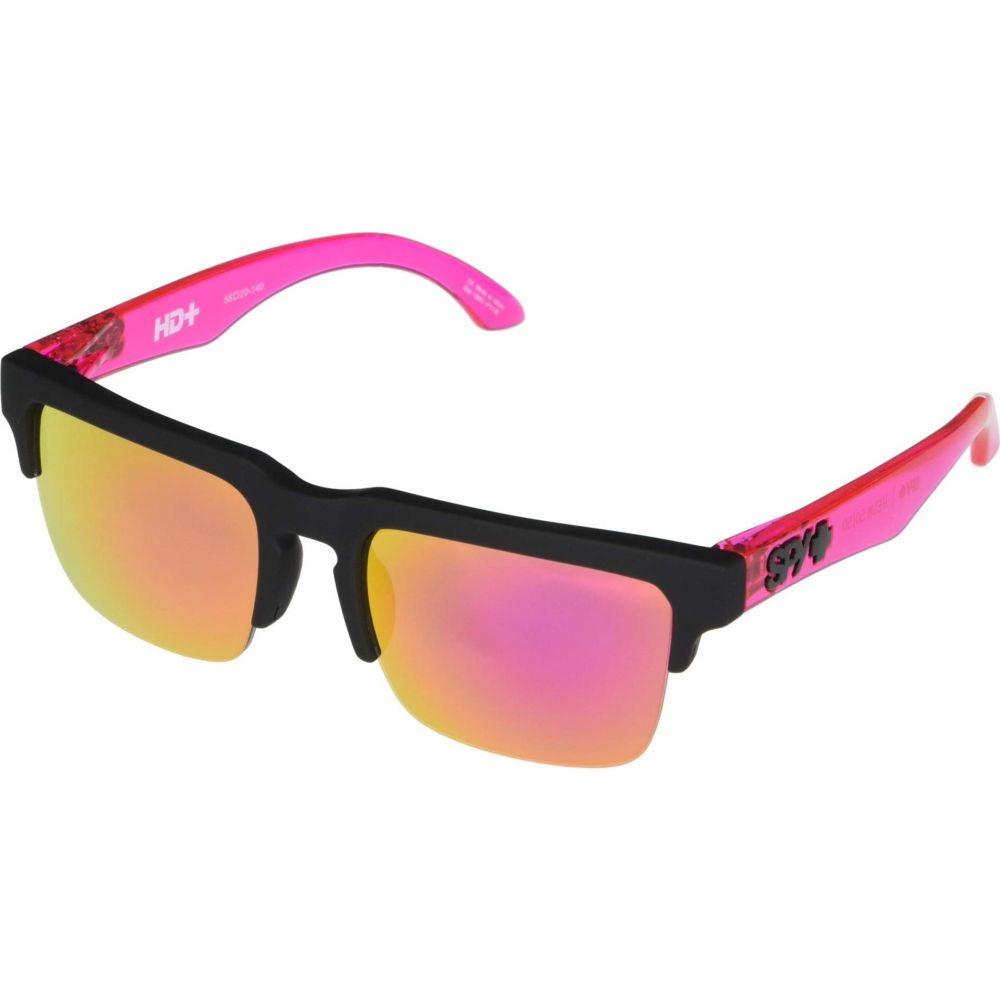 Pink with Black 【Helm Plus Optic Spy 50/50】Soft メンズ Sp Green メガネ・サングラス スパイ Gray Translucent Pin/HD Matte