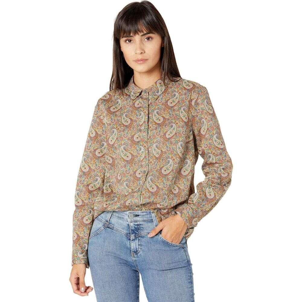 Print】Olive Lee Shirt in トップス【Perfect ジェイクルー レディース J.Crew Multi Liberty Paisley Manor ブラウス・シャツ