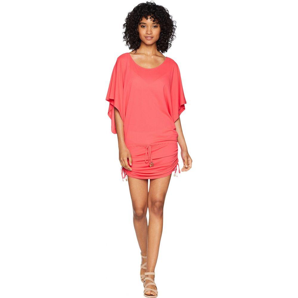 水着・ビーチウェア【Cosita Luli Buena ビーチウェア Red ワンピース・ドレス South ルリファマ Dress Beach レディース Fama Cover-Up】Bombshell