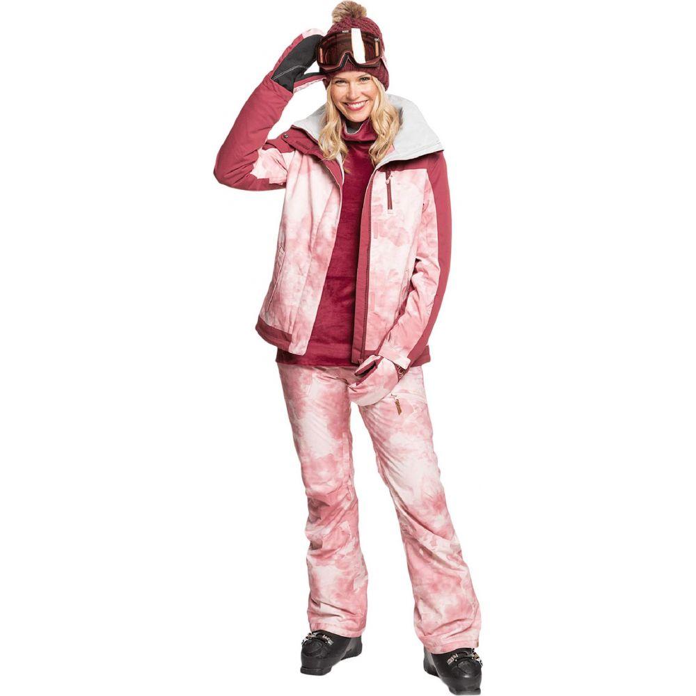 レディース 【Nadia ボトムス・パンツ Pants】Silver/Pink Printed Tie-Dye Roxy ロキシー