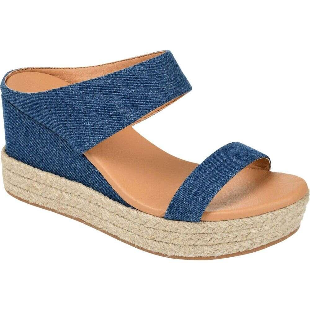 コレクション サンダル・ミュール Collection Journee Slide】Denim ジュルネ レディース シューズ・靴【Alissa