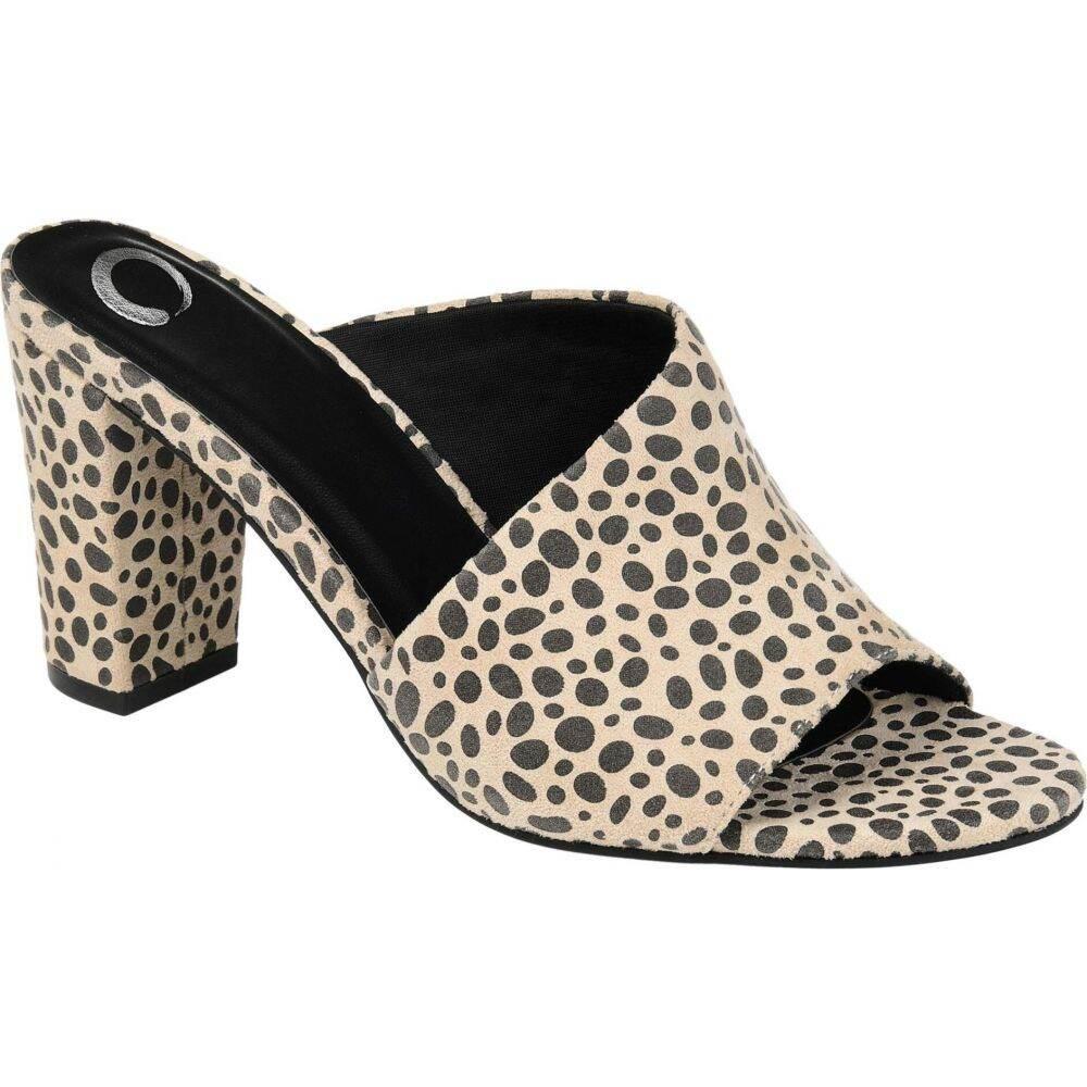 コレクション Journee レディース Allea サンダル・ミュール Foam(TM) Collection シューズ・靴【Comfort Slide】Animal ジュルネ