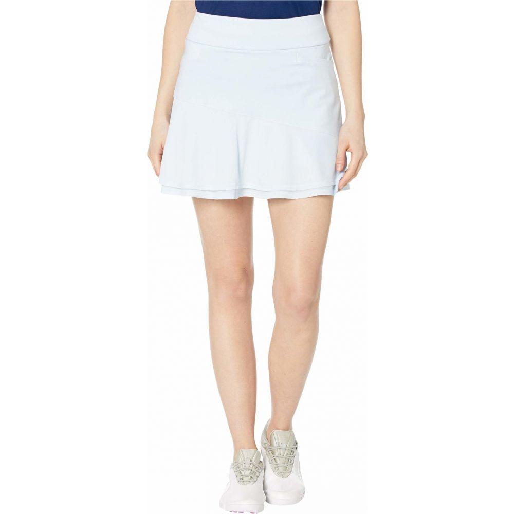 ミニスカート レディース adidas Knit スコート アディダス Golf Tint スカート【Ultimate365 Skort】Sky Frill