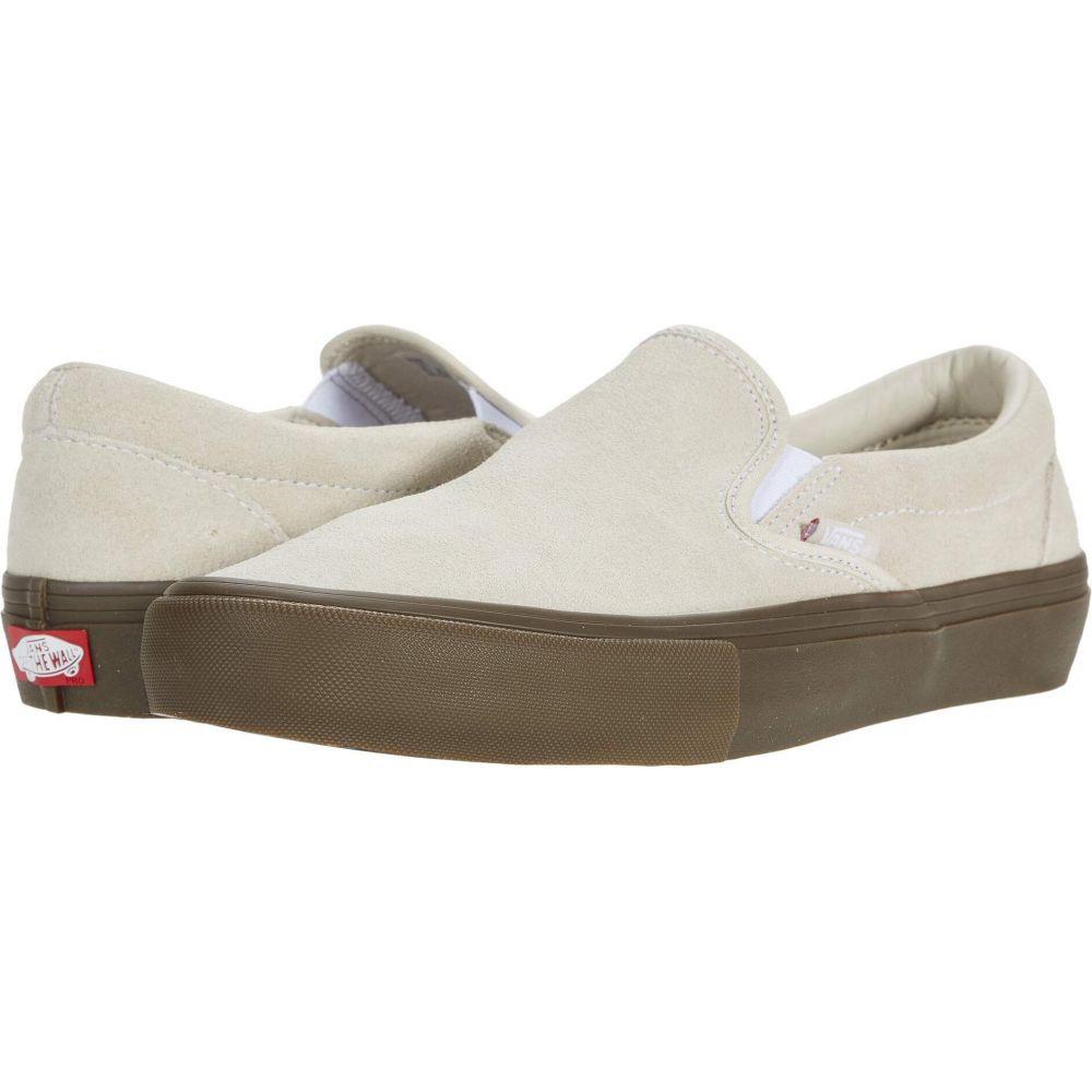 Pro】Oatmeal/Gum シューズ・靴【Slip-On スリッポン・フラット レディース Vans ヴァンズ