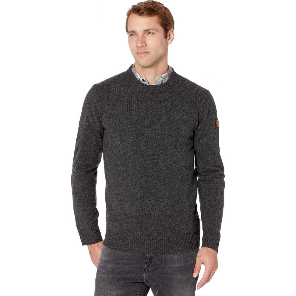 フェールラーベン メンズ トップス ニット セーター メイルオーダー Dark Fjallraven サイズ交換無料 Grey トレンド Ovik Sweater Round-Neck