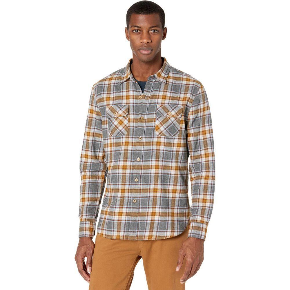 【★安心の定価販売★】 ニフティジーニアス Nifty Genius メンズ トップス 【Truman Outdoor Shirt in Plaid】Gray/Rust, シベツチョウ aa059e8c