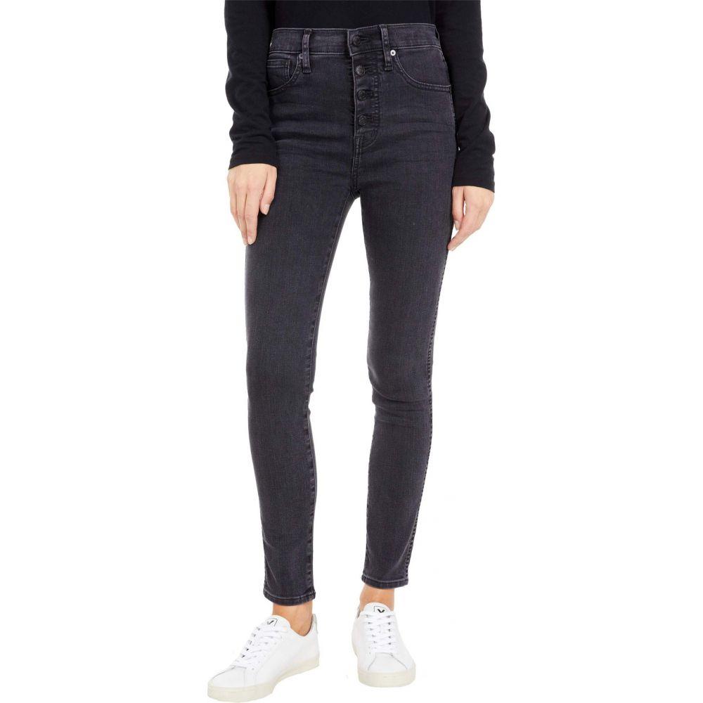 メイドウェル Madewell レディース ジーンズ・デニム スキニー ボトムス・パンツ【10'' High-Rise Skinny Jeans in Robert Wash: Button-Font Edition】Robert Wash:フェルマート