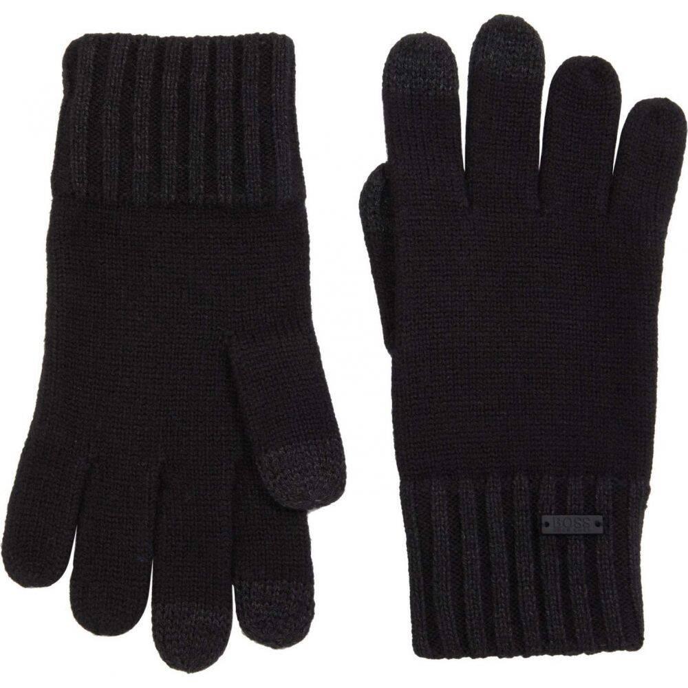 ヒューゴ ボス メンズ ファッション小物 手袋 特別セール品 グローブ Black サイズ交換無料 Gritzo Boss Tech Hugo 開店記念セール w Gloves BOSS Touch