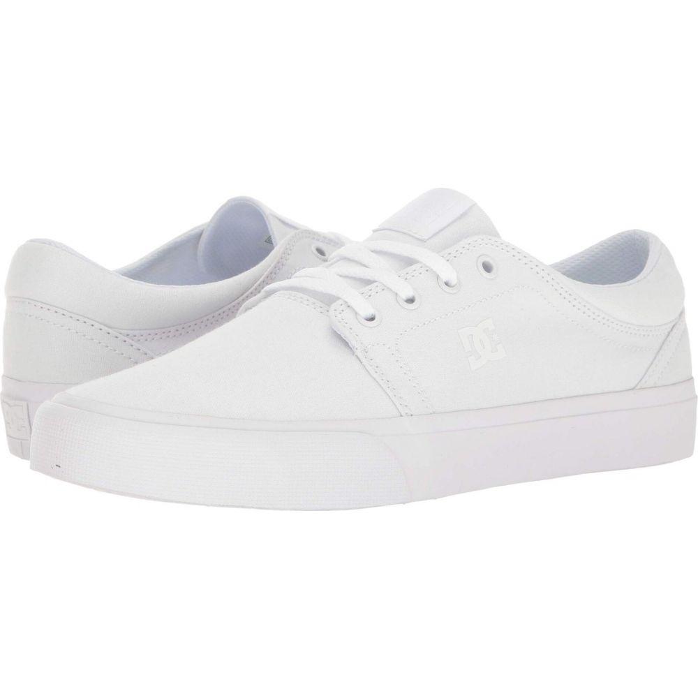 ディーシー レディース シューズ 靴 スニーカー 超人気 Trase サイズ交換無料 DC TX White 永遠の定番
