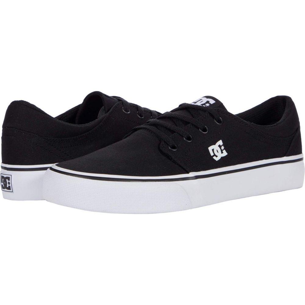 ディーシー レディース シューズ 靴 スニーカー Black Trase サイズ交換無料 TX DC White 再入荷/予約販売! 格安店