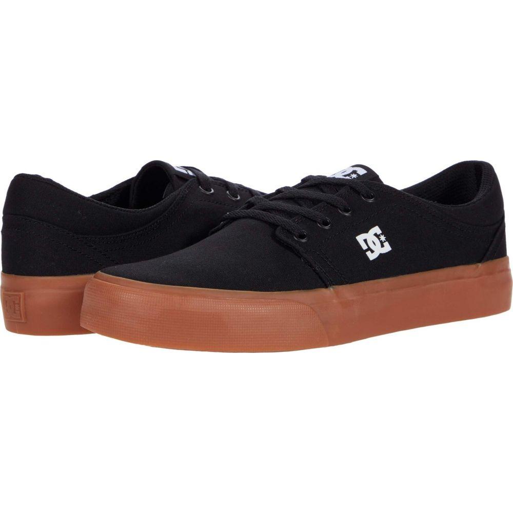ディーシー レディース シューズ 予約 靴 スニーカー Black サイズ交換無料 Trase 送料無料激安祭 TX DC Gum