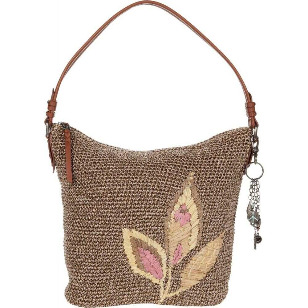 <title>ザ サク 2020モデル レディース バッグ ショルダーバッグ Tea Leaf Embroidery サイズ交換無料 The Sak Sequoia Crochet Hobo</title>