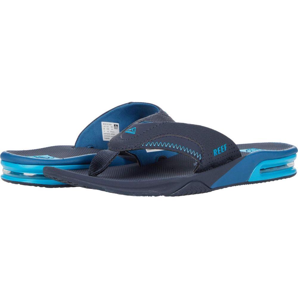 リーフ メンズ シューズ 送料無料/新品 靴 待望 ビーチサンダル Reef Ocean Fanning Blue サイズ交換無料