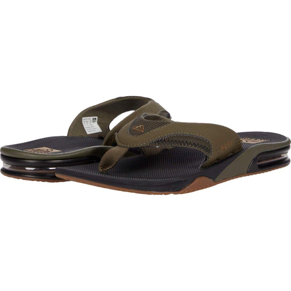 リーフ メンズ シューズ 靴 ビーチサンダル Olive サイズ交換無料 Prints セール 全国どこでも送料無料 特集 Swells Fanning Reef