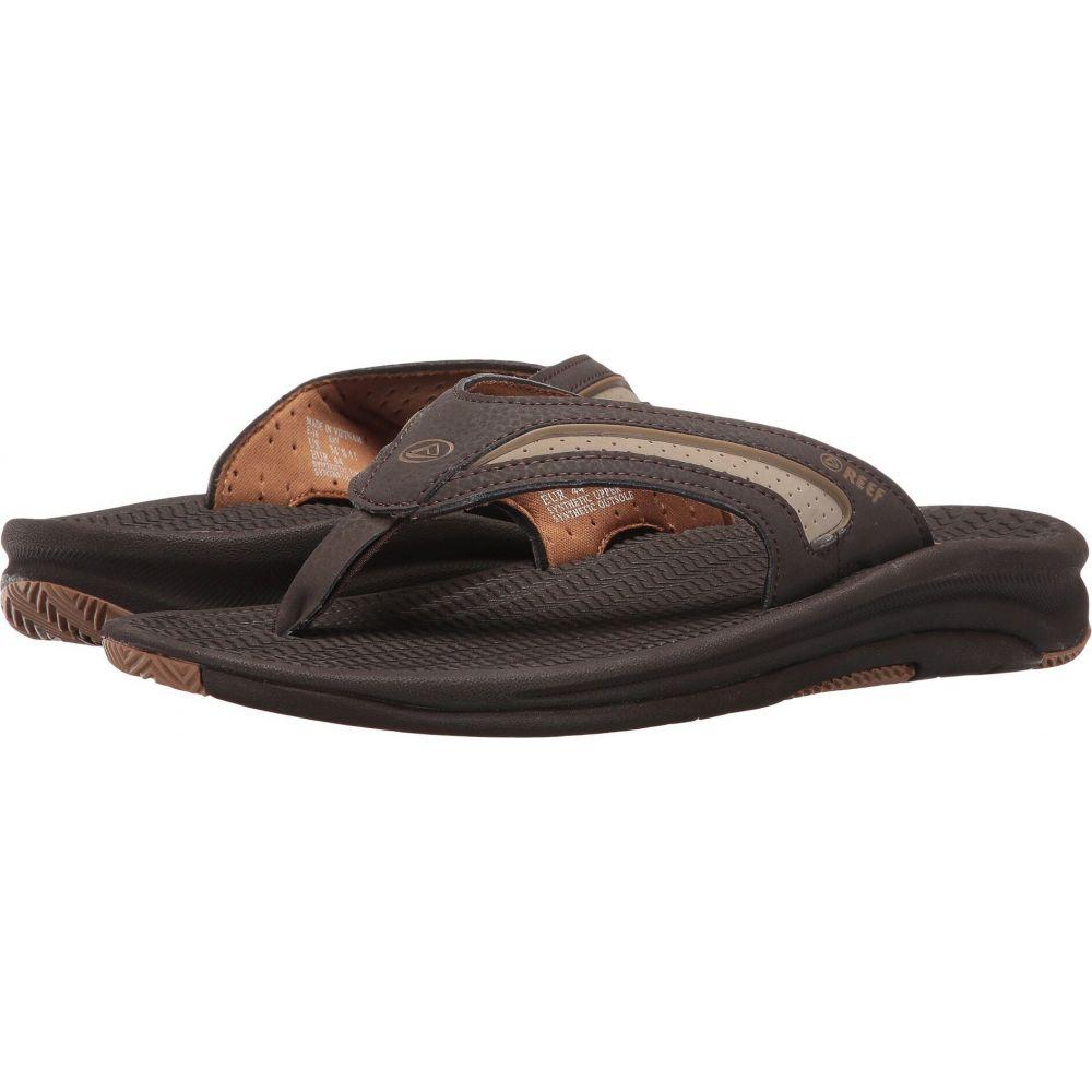 リーフ メンズ シューズ お買い得品 靴 送料無料お手入れ要らず ビーチサンダル Dark Brown Tan Flex Reef サイズ交換無料