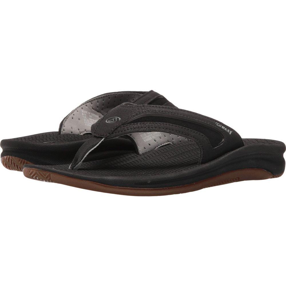 リーフ メンズ シューズ 靴 大人気 ビーチサンダル オーバーのアイテム取扱☆ Black サイズ交換無料 Silver Flex Reef
