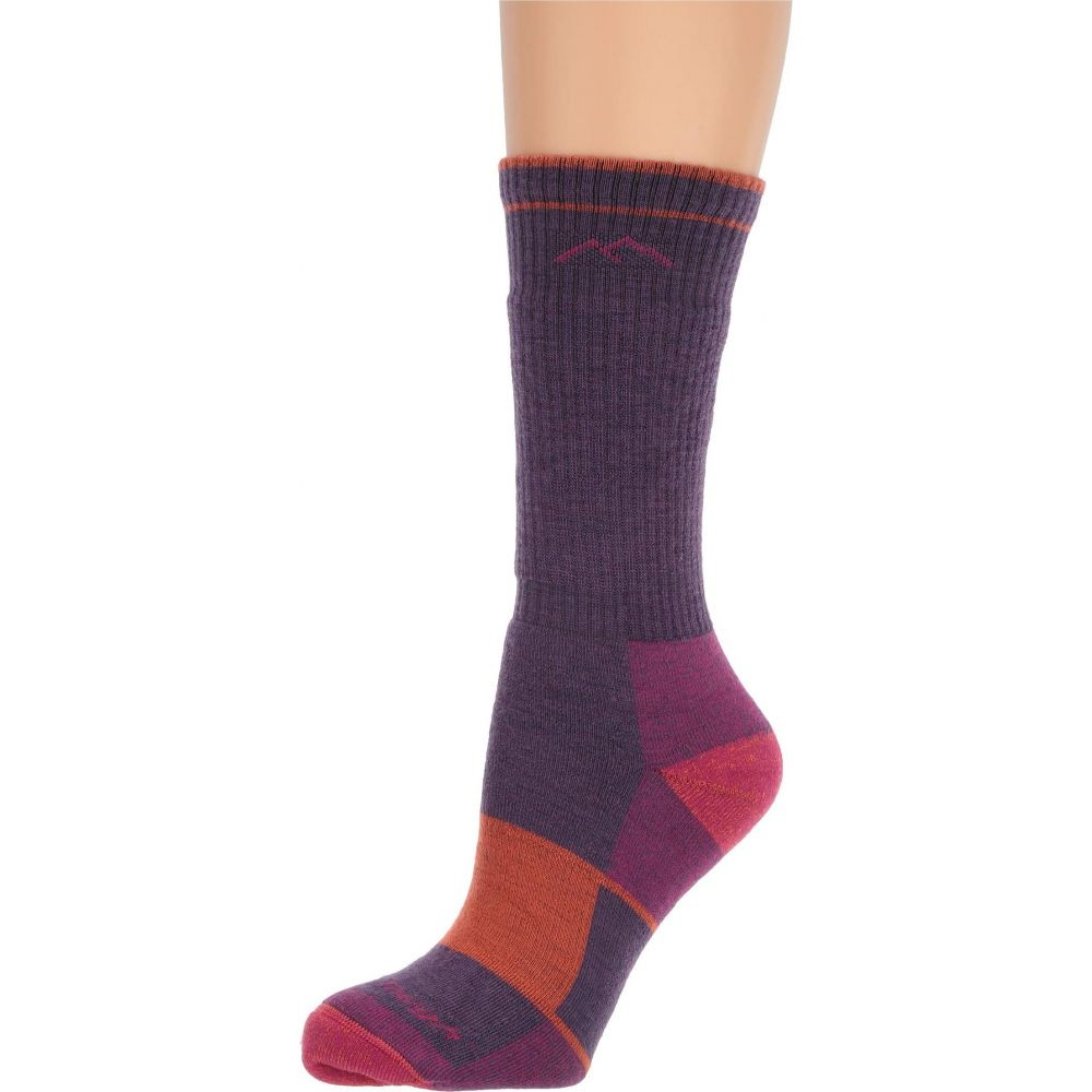 ダーンタフ レディース インナー 下着 ソックス Plum Heather 当店は最高な サービスを提供します サイズ交換無料 ランキング総合1位 Darn Wool Merino Socks Tough Cushion Boot Vermont Full