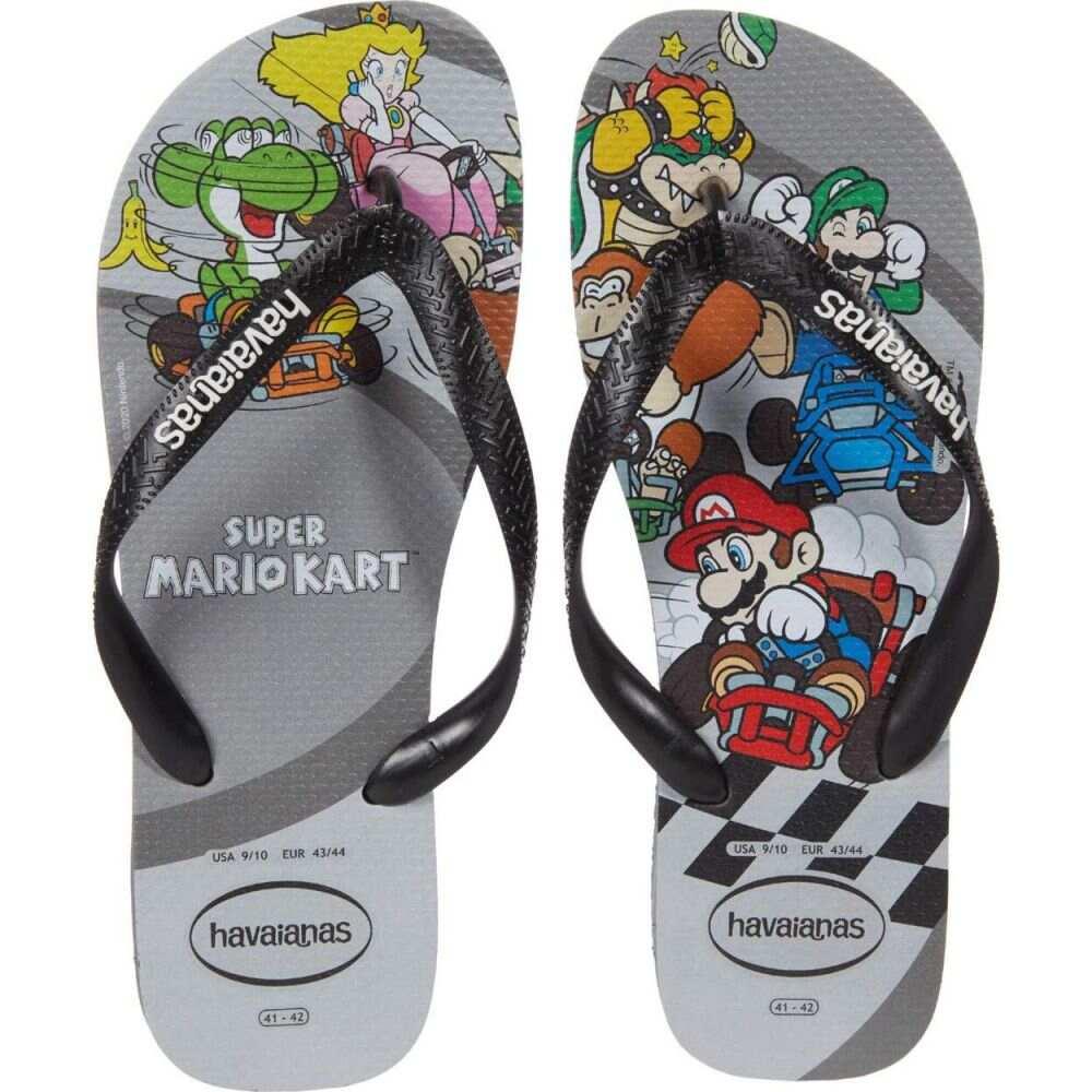 ハワイアナス メンズ シューズ 特価 靴 ビーチサンダル Steel Grey 新商品 Havaianas Flip-Flops Mario Bros サイズ交換無料