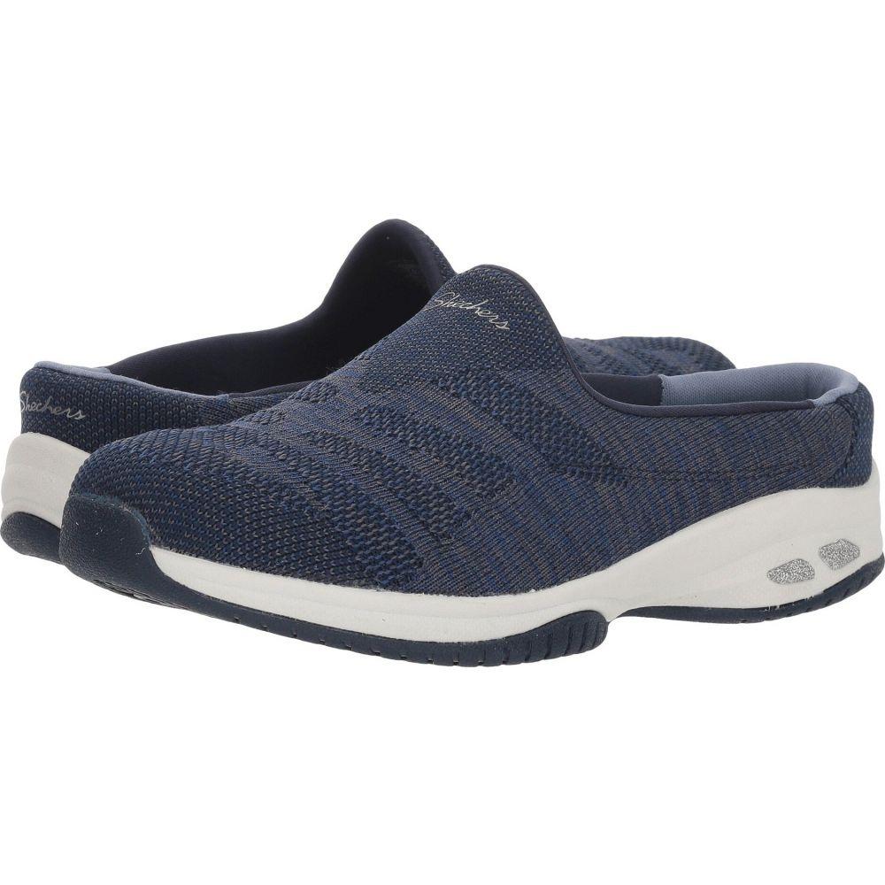 スケッチャーズ レディース シューズ 靴 スニーカー 無料 Navy - サイズ交換無料 Grey 送料無料/新品 Knitastic SKECHERS Commute