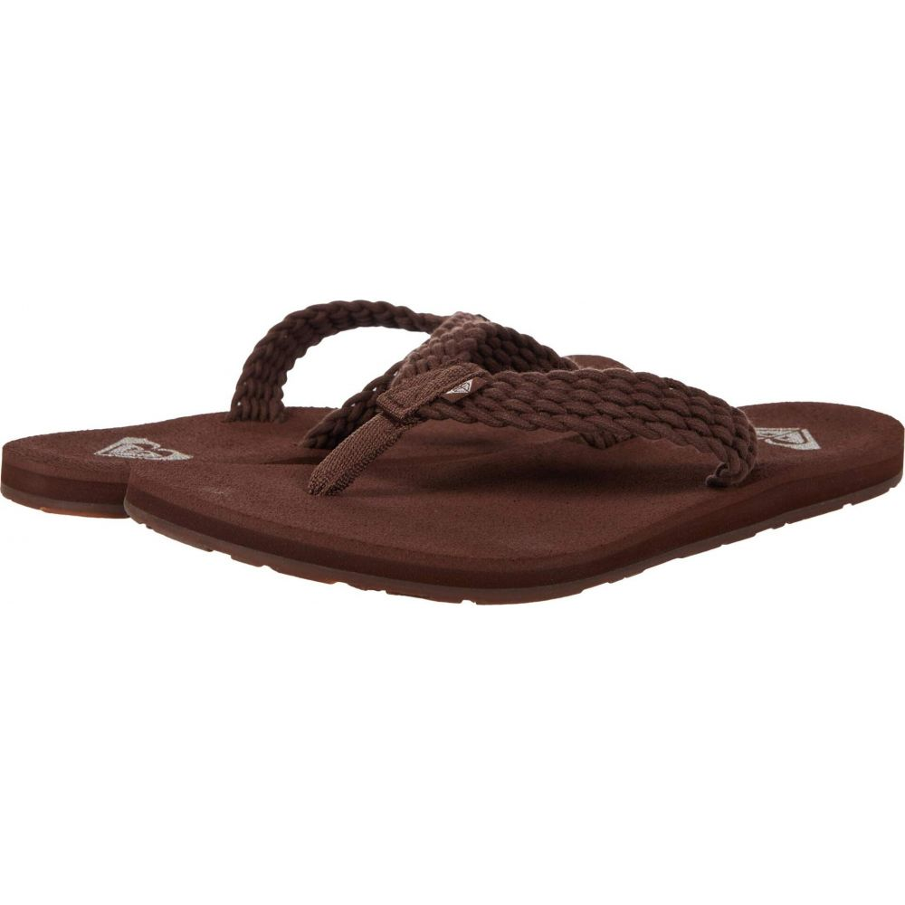定番キャンバス ロキシー レディース シューズ 靴 ビーチサンダル キャンペーンもお見逃しなく Brown Chocolate サイズ交換無料 Porto Roxy III